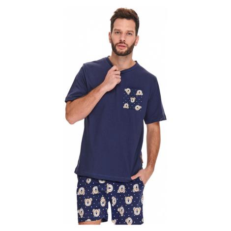 Pánske tmavomodré pyžamo PMB9951