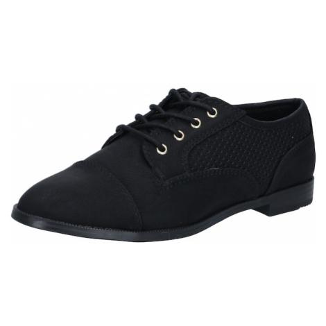 CALL IT SPRING Šnurovacie topánky 'KATIIE'  čierna