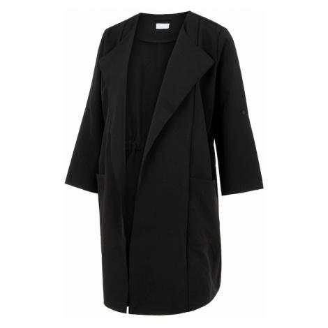 MAMALICIOUS Prechodný kabát 'PAIGE'  čierna Mama Licious