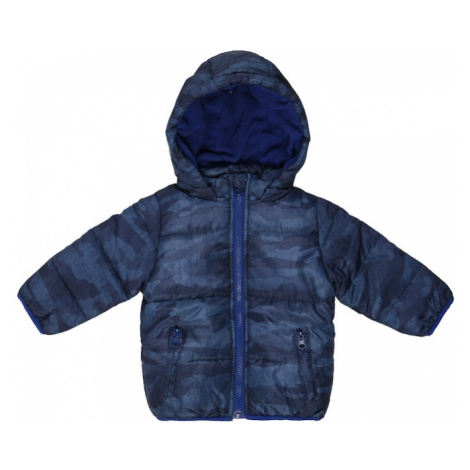 BLUE SEVEN Zimná bunda  modrá denim / tmavomodrá