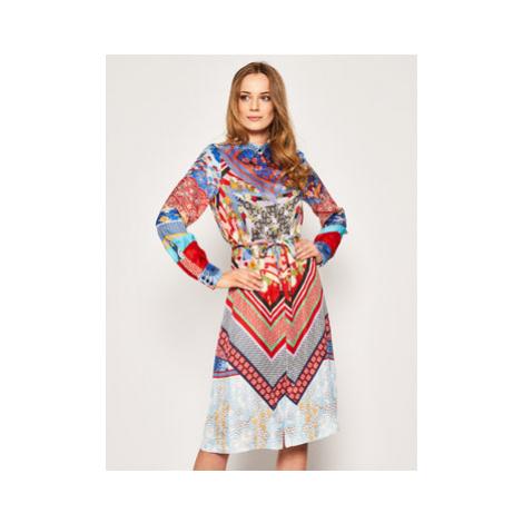 Pinko Košeľové šaty Cinderella 20201 PBK2 1B14GC 8047 Farebná Regular Fit
