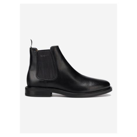 Akron Kotníková obuv Gant Čierna