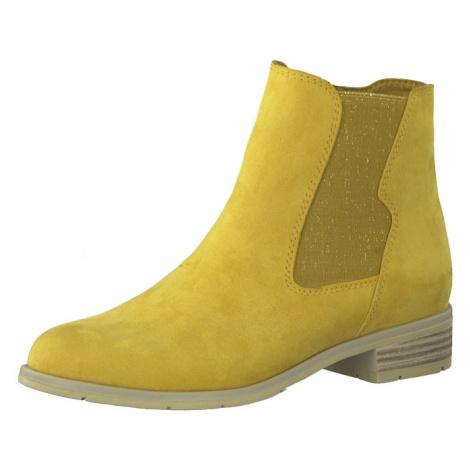 MARCO TOZZI Členkové čižmy  žltá
