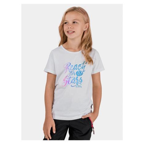 Biele dievčenské tričko SAM 73