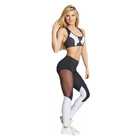 Gym Glamour Legíny čiernobiele