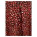 Missguided Tall Košeľové šaty  červená / zmiešané farby