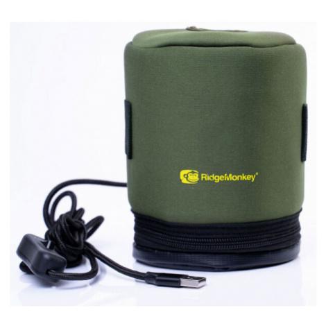 RIDGEMONKEY ECOPOWER USB HEATED GAS CANISTER COVER - Vyhrievaný obal na plynovú kartušu