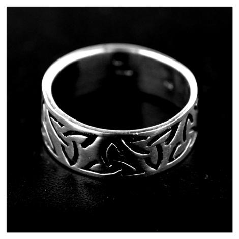 Strieborný prsteň 15237