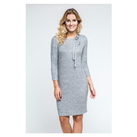 Sivé šaty 240209 Enny