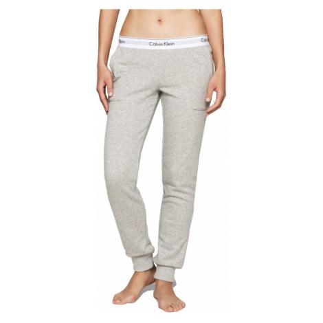 Calvin Klein sivé dámske tepláky Pant Jogger