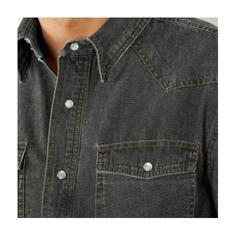 Blancheporte Džínsová košeľa sivá