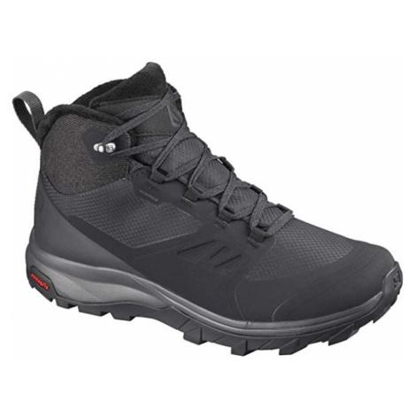 Zimné topánky SALOMON Outsnap CSWP W Čierna