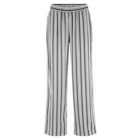 Viskózové nohavice so širokým strihom bonprix