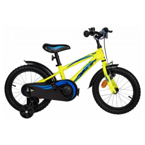 Amulet MINI 16 žltá - Detský bicykel