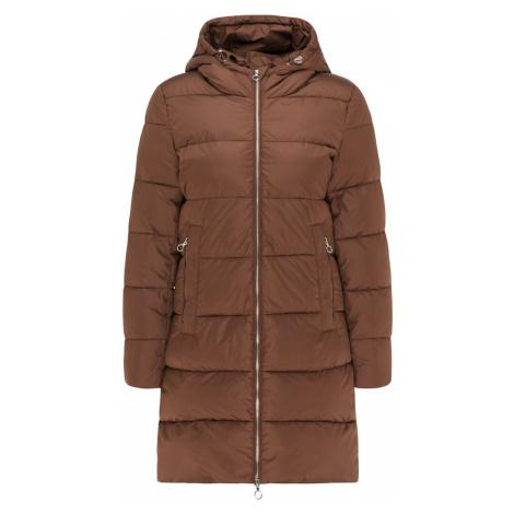 Usha Zimný kabát  gaštanová