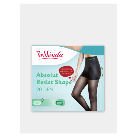 Punčochové kalhoty ABSOLUT RESIST SHAPE 20 DEN - Formující punčochové kalhoty, navíc nepouští ok Bellinda