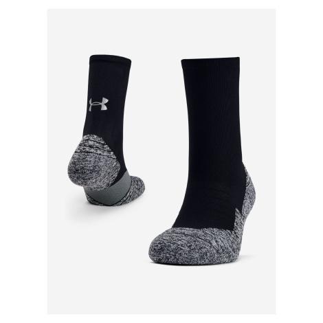 Ponožky Under Armour Run Cushion Crew Čierna