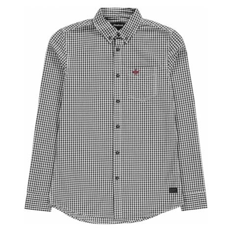 Firetrap Long Sleeve Gingham Shirt Mens