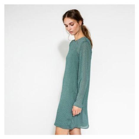 Zelené dvojvrstvové šaty – Abelone Pieces
