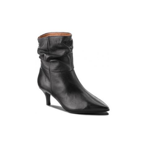 Eva Minge Členková obuv Fresno 4M 18SF1372597EF Čierna