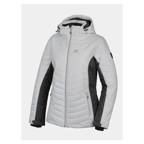Biela dámska zimná bunda Hannah