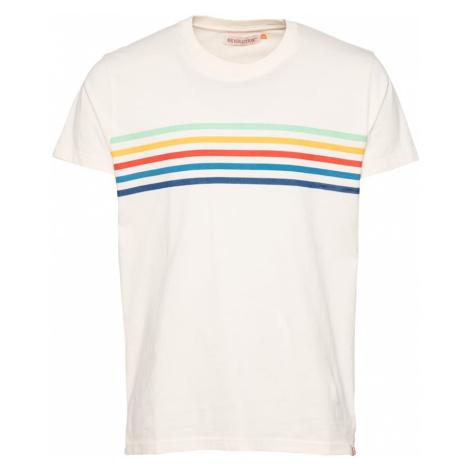 Revolution Tričko  šedobiela / zmiešané farby