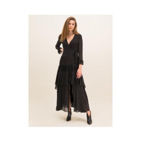 Pinko Večerné šaty Cheesecake PE 20 BLK01 1G14QW Y5YC Čierna Regular Fit