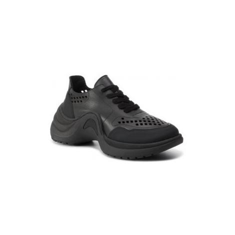 Eva Minge Sneakersy EM-33-06-000274 Čierna
