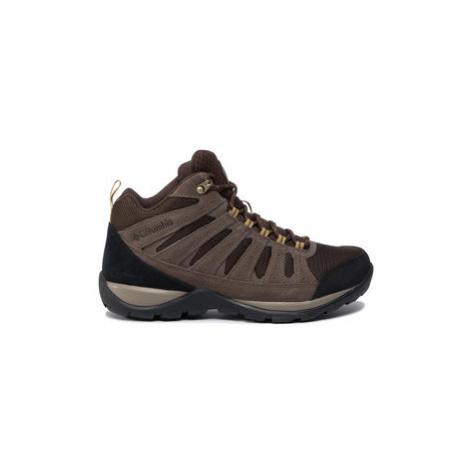 Columbia Trekingová obuv Redmond V2 Mid Wp BM0833 Hnedá