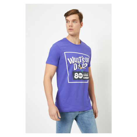 Koton Bugs Bunny Printed Licensed Short Sleeve T-Shirt