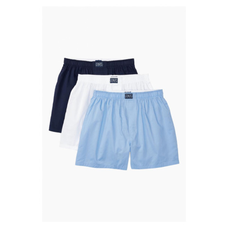 Polo Ralph Lauren trenírky 3- balenie - modrá, biela
