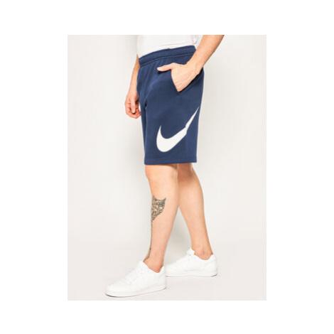Nike Športové kraťasy Club Short Bb BV2721 Tmavomodrá Regular Fit
