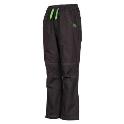 Lewro NINGO sivá - Detské zateplené nohavice
