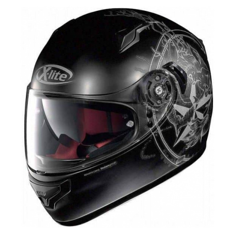 Moto prilba X-lite X-661 Sirene N-Com Flat Black