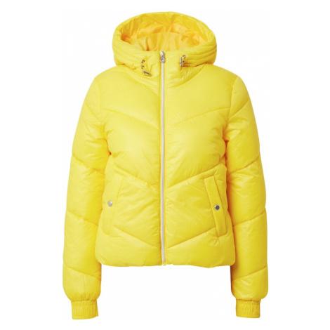ONLY Zimná bunda 'Holly'  žltá