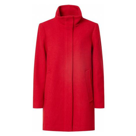 ESPRIT Prechodný kabát  tmavočervená