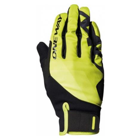 One Way XC TOBUK 7 čierna - Pretekárske rukavice na bežky