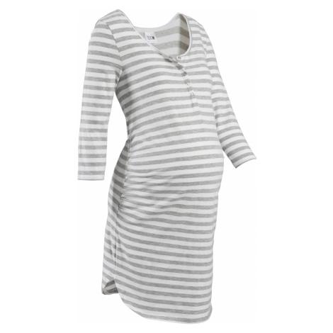 Nočná košeľa na dojčenie bio bavlna bonprix