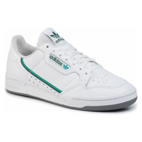 Topánky adidas - Continental 80 EF5990 Ftwwht/Glrgrn/Cgreen