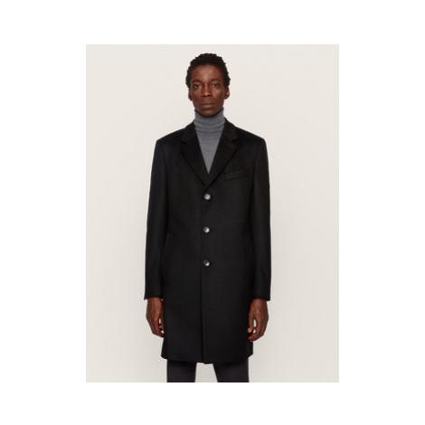 Boss Prechodný kabát Nye2 50438689 Čierna Regular Fit Hugo Boss