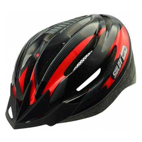 Cyklo přilba SULOV MATTEO, černo-červená Helma