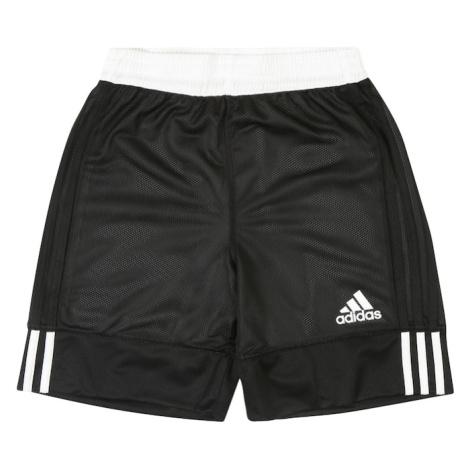 ADIDAS PERFORMANCE Športové nohavice '3G Speed Reversible'  biela / čierna