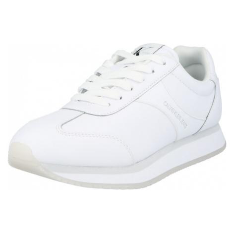 Calvin Klein Jeans Nízke tenisky  biela
