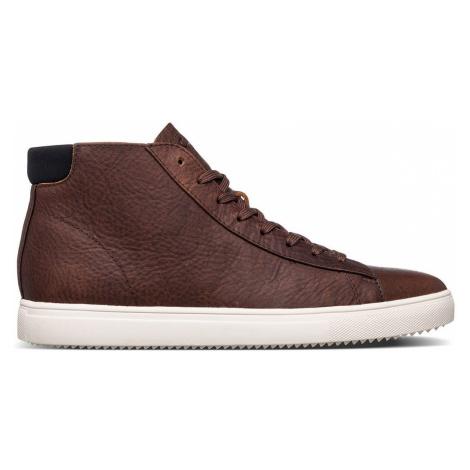 Clae Bradley Mid Cocoa Leather-9.5 hnedé CL20CBM04-CCL-9.5