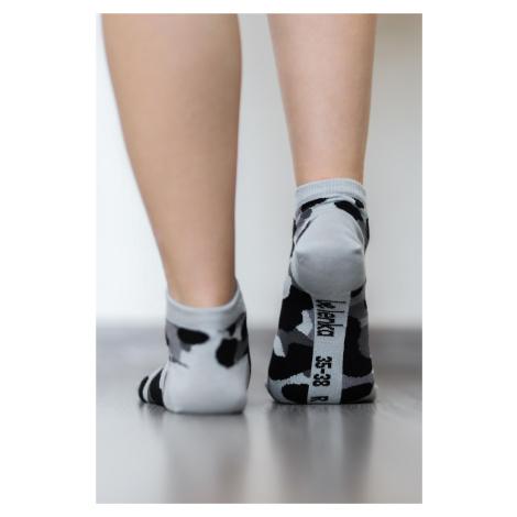 Barefoot ponožky krátke - Maskáčové 43-46