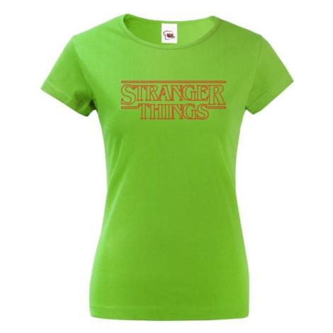 Dámske tričko s potlačou Stranger Things