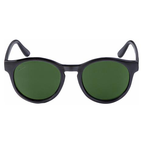 Unisex slnečné okuliare MSTRDS Sunglasses Sunrise blk/grn Pohlavie: pánske,dámske