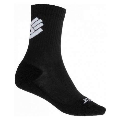 Sensor RACE MERINO BLK čierna - Ponožky