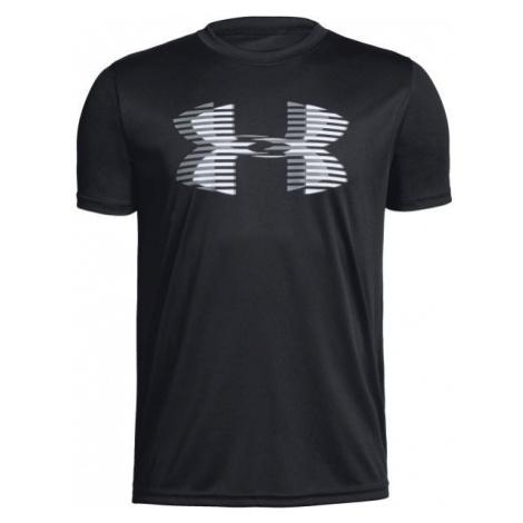 Under Armour TECH BIG LOGO SOLID TEE čierna - Chlapčenské tričko