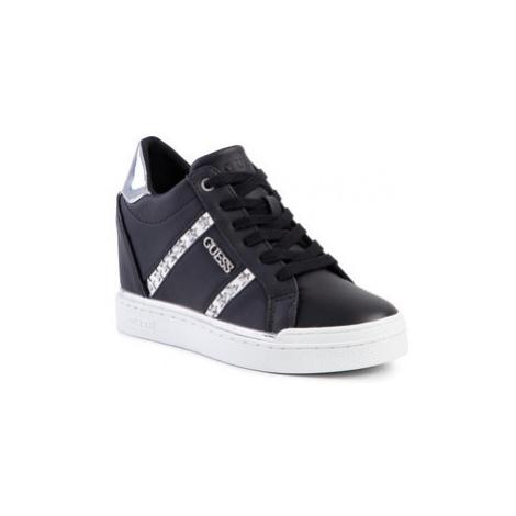 Guess Sneakersy Fayne FL5FAY ELE12 Čierna